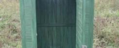 Туалет на даче: 15 фото-идей