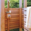 Летний душ (из дерева). ТОП 10 лучших вариантов вашей для дачи
