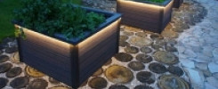 Клумба квадратной формы. Самые красивые идеи (14 фото)