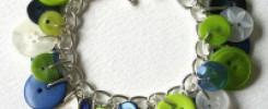 10 самых красивых браслетов из пуговиц своими руками