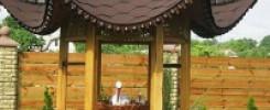 Декоративные колодцы для дачи. Подборка из 10 фото