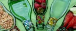 8 идей посуды из стеклянных бутылок. Такого вы ещё не видели!!!