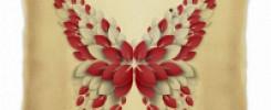 Мягкие подушки с великолепными бабочками. 10 фото