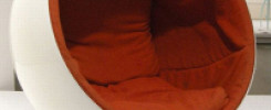 Кресло в форме яйца: 8 идей смелого дизайна