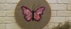 Панно бабочка из пуговиц - 9 восхитительных идей