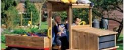 Автомобиль на детскую площадку = 10+ фото идей своими руками