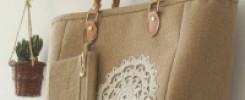 Сумка из мешковины своими руками. 10 восхитительных идей + фото