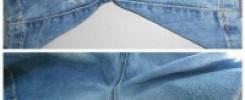 9 интересных идей, как и чем, заделать дырку на джинсах