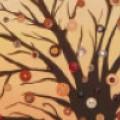 Аппликация – дерево из пуговиц. 10 лучших фото