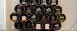 Фото полок для обуви из труб ПВХ. 12 ТОП моделей