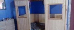 Кроваток домик: 11 моделей своими руками. Фотообзор