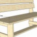 Скамейки из досок: 10 чертежей, чтобы сделать своими руками