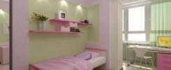 Полки над кроватью в детской комнате - фото. 10 вариантов