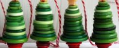 Новогодняя елка из пуговиц. ТОП 10 лучших идей поделок