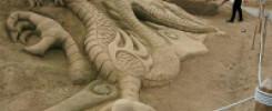 Дракон из песка. 9 фото лучших скульптур в Мире!!!