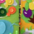 Игрушки из фетра с пуговицами: развивающие и тактильные. 8 лучших идей