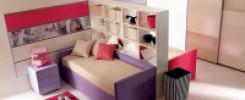 Полки между кроватями в детскую. 10 идей, как возможно сделать