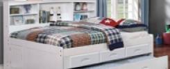 Кровать с полками. 10 фото идей смелого дизайна