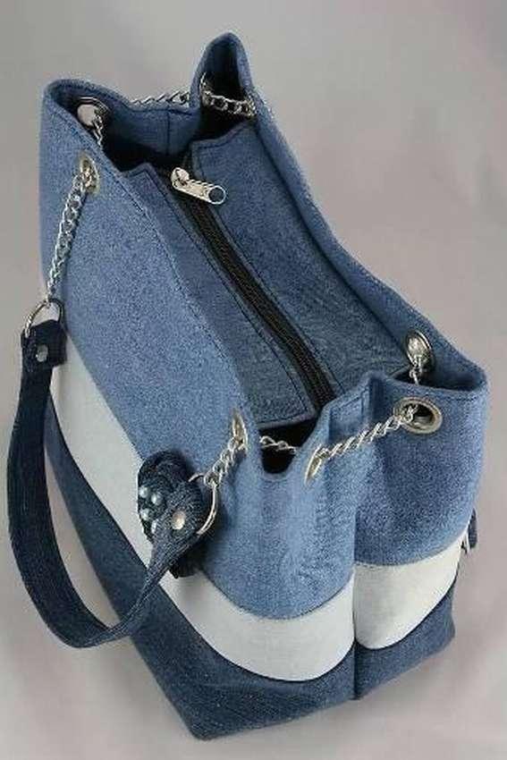 сумки женские из джинса выкройка фото интерьер выглядят