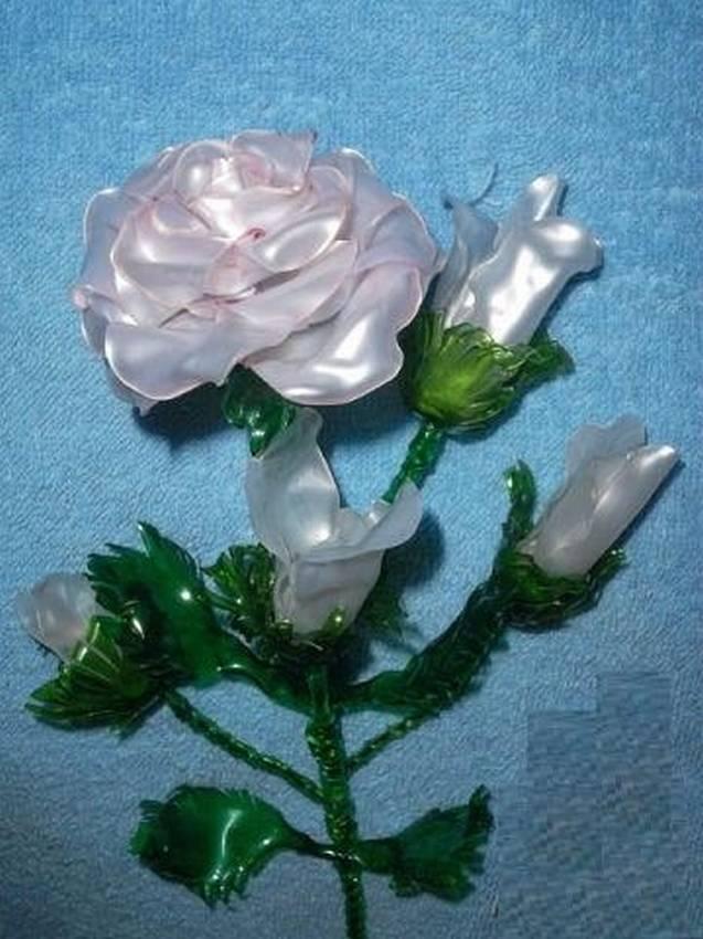 роза картинки из пластика интересное