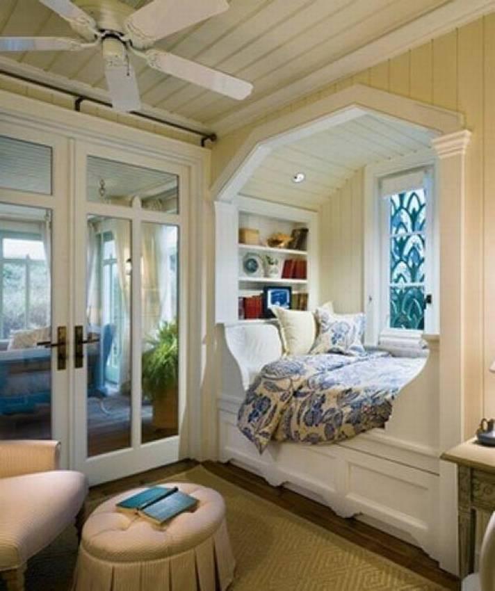 приобрести натяжные кровать подоконник в зале фото схем