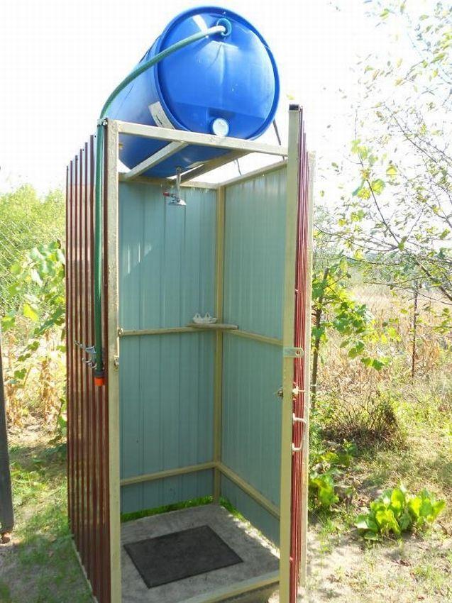 Фото садовый душ из подручных средств