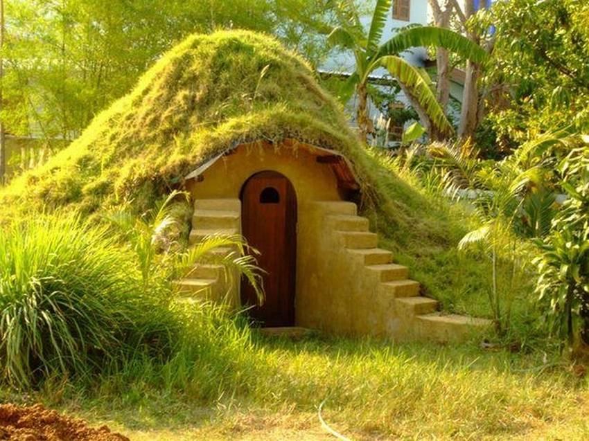 как построить домик в земле фото вас