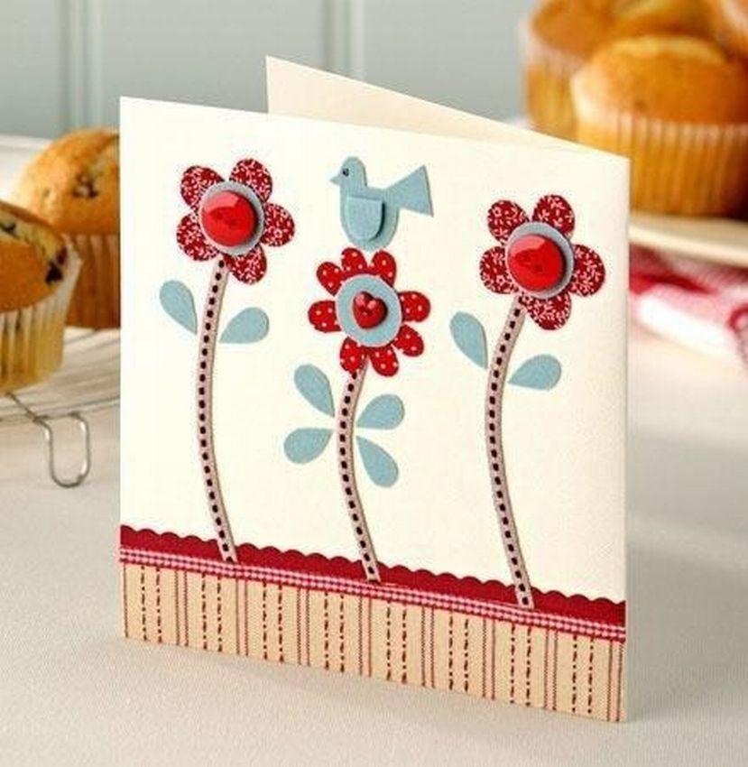 открытки простые самодельные потолки один