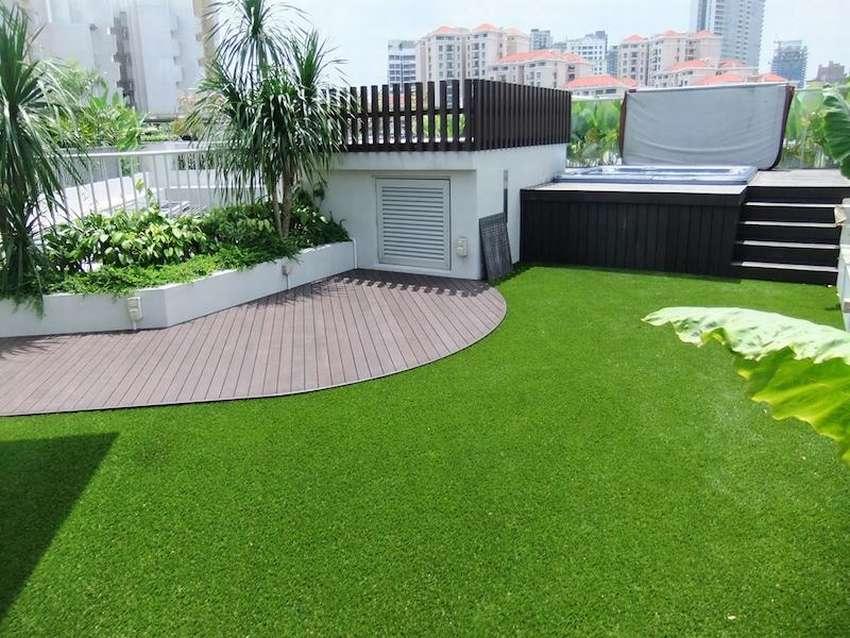 10 фото: искусственный газон в