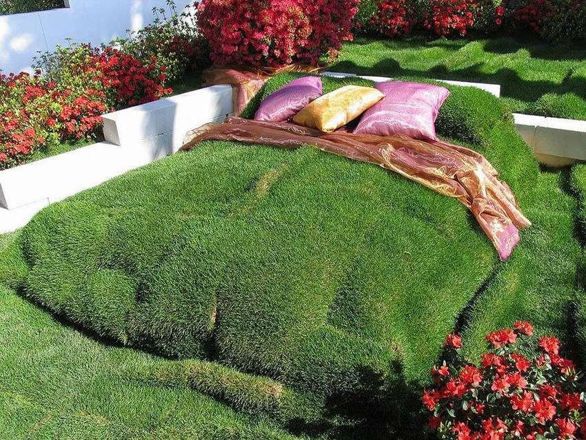 ТОП 10 идей оформление газона